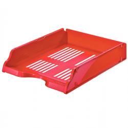 Vaschetta portacorrispondenza Transit - 26x33,6x7,6 cm - rosso - Esselte