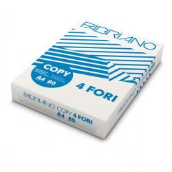 Carta Copy 4 fori - A4 - 80 gr - bianco - Fabriano - conf. 500 fogli