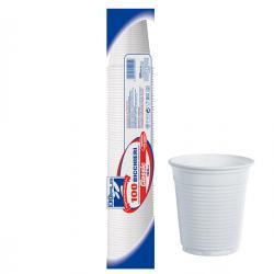 Bicchieri - monouso - 166 cc - bianco - DOpla - conf. 100 pezzi