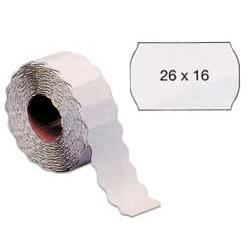 Etichetta a onda - removibile - 26x16 mm - bianco - Markin - rotolo da 1000 etichette