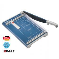 Taglierina a leva 533 - 340 mm (A4) - capacità taglio 15 fg - 450x285 mm - blu - Dahle