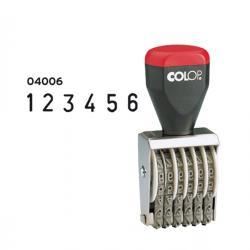 Timbro 04006 Numeratore - 6 colonne 4 mm - Colop®