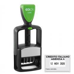 Timbro Datario Office S 360 - autoinchiostrante - personalizzabile - 30x45 mm - Colop®