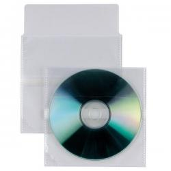 Buste a sacco Insert CD AR - patella autoadesiva di chiusura - PP - 12.5x12 cm - Sei Rota - conf. 25 pezzi