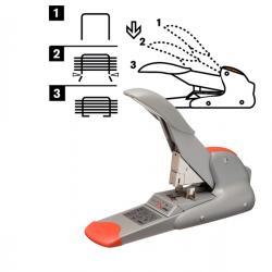 Cucitrice da tavolo Rapid DUAX® Heavy Duty - capacità massima 170 fogli - grigio - Rapid
