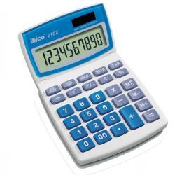 Calcolatrice da tavolo 210X - 10 cifre - bianco - Ibico