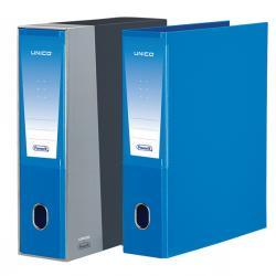 Registratore Unico - dorso 8 cm - protocollo 23x33 cm - azzurro - Favorit