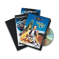 Custodia per DVD singolo - nero - Fellowes - scatola da 5 pezzi