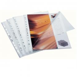 Buste aperte a L - con foratura universale - buccia - 22x30 cm - Favorit - conf. 50 pezzi