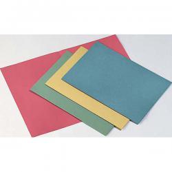 Cartelline semplici - senza stampa - cartoncino Manilla 145 gr - 25x34 cm - giallo - Cartotecnica del Garda - conf. 100 pezzi