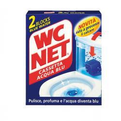 WC NET Cassetta Acqua Blu - 2 tavolette