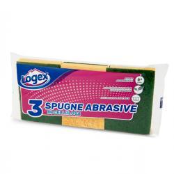 Spugna biuso - Logex Professional - conf. 3 pezzi
