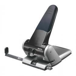 Perforatore 5180 - passo 8 cm - massimo 65 fogli - 2 fori - nero - Leitz