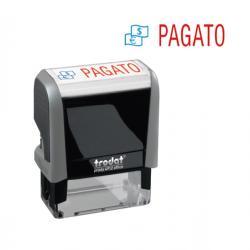 Timbro Office Printy Eco - PAGATO - 47x18 mm - Trodat®