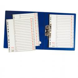 Separatore alfabetico A/Z - PPL - A4 - grigio - Esselte