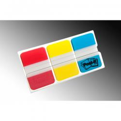 Segnapagina Post-it® Index Strong Medium - 25x38 mm - colori classici - Post-it - conf. 66 pezzi