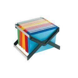 Supporto per cartelle sospese Luxor - con 10 cartelle Joker interasse 33 cm - 41x27,5x32 cm - colori assortiti - Bertesi