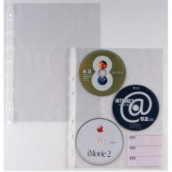 Buste forate Atla CD 3 - 3 tasche - 21x29.7 cm - Sei Rota - conf. 10 pezzi