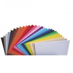 Cartoncino Elle Erre - 50x70cm - 220gr - bianco 100 - Fabriano - Conf. 20 fogli