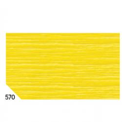 Carta crespa - 50x250cm - 60gr - giallo 570 - Sadoch - Conf. 10 rotoli