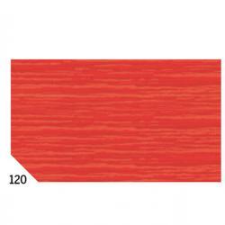 Carta crespa - 50x250cm - 60gr - rosso 120 - Sadoch - Conf. 10 rotoli