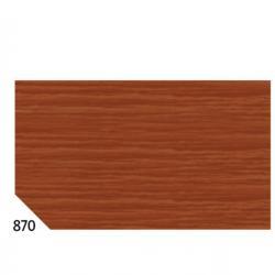Carta crespa - 50x250cm - 60gr - marrone 870 - Sadoch - Conf. 10 rotoli