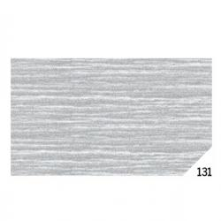 Carta crespa - 50x150cm - argento metal 131 - Sadoch - Conf. 10 rotoli