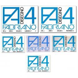 Album F4 - 240x330mm - 220gr - 20fg - liscio - squadrato - Fabriano