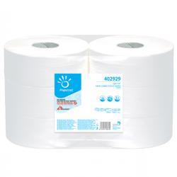 Carta igienica Maxi Jumbo - 2 veli - 15,5 gr - diametro 26,7 cm - 9,5 cm x 371,5 mt - Papernet