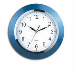 Orologio da parete Style - diametro 33,5cm - blu - Alco
