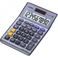 Calcolatrice da tavolo MS-100EM - 10 cifre - blu - Casio