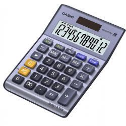 Calcolatrice da tavolo MS-120EM - 12 cifre - blu - Casio
