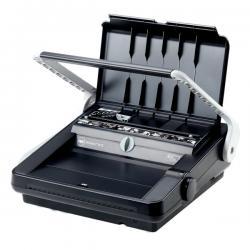 Rilegatrice Wirebind W18 - manuale - a dorso metallico - Rexel