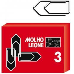 Fermagli zincati N.3 - lunghezza 29 mm - Molho Leone - conf. 100 pezzi