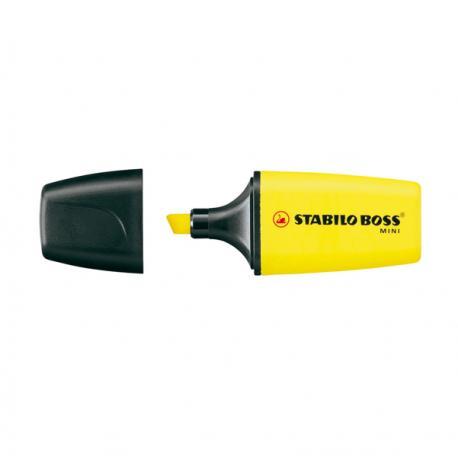 Evidenziatore Boss Mini - giallo - Stabilo