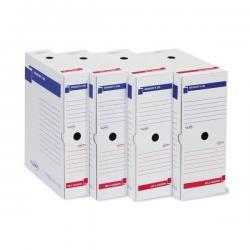 Scatola archivio Memory X100 - 25x35 cm - dorso 10 cm - bianco - Sei Rota