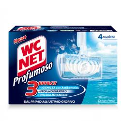 Tavoletta Profumoso Mountain Fresh - WC Net - 4 gabbiette da 34 gr