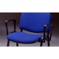 Set braccioli per sedie serie Dado - nero - Unisit
