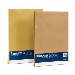 Carta riciclata Risma Field - A4 - 90gr - nocciola - Favini - conf. 100fg