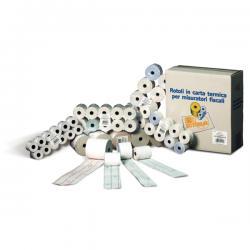 Rotoli calcolatrici - 57mm x 35mt - diametro esterno 60mm - anima 12mm - 60gr - pura cellulosa - Rotomar - blister 10 rotoli