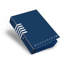 Cartella progetto Monocromo - con elastico - dorso 7 cm - colori assortiti - Pigna