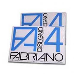 Cartoncino F4 - 50x70cm - 200gr - bianco - ruvido - Fabriano - Conf. 25 fogli