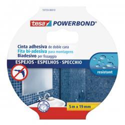 Nastro biadesivo per specchi Tesa® Powerbond - 5 mt x 19 mm - bianco - Tesa®