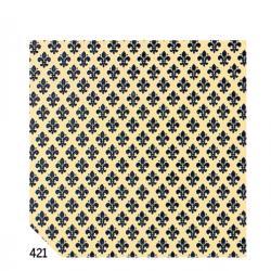 Rotolo Cartarivesto RexTaco - 49x300 cm - adesivo - lavabile - giglio blu - Rex Sadoch