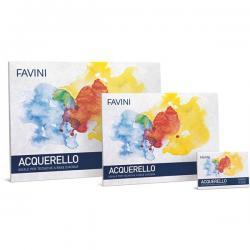 Blocco Acquerello - 250x350mm - 340gr - 10fg - Favini