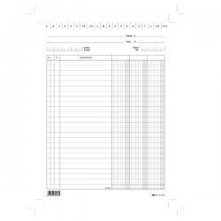 Schede - 3 colonne - 29.7x21 cm (verticale) - Edipro - bianco - conf. 100 pezzi