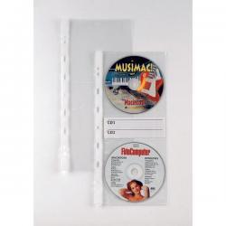 Buste forate Atla CD 2 - 2 tasche - 12.5x30 cm - Sei Rota - conf. 10 pezzi