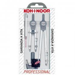 Compasso professional - diametro max 155mm - 5pezzi - Koh.I.Noor
