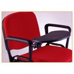 Set 2 braccioli con tavoletta ovale - destra - per sedie serie Dado - Unisit