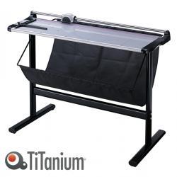 Taglierina a lama rotante 3022 - con stand - A0 - 1300 mm - taglio lineare - capacità taglio 7 fg - grigio/nero - Titanium